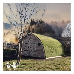 Wooden Hobbit Home