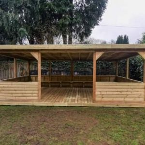 Outdoor Large Wooden Classroom